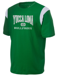 Yucca Loma Elementary School Bullfrogs Holloway Men's Rush T-Shirt
