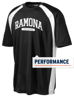 Ramona Junior High School Indians Men's Dry Zone Colorblock T-Shirt