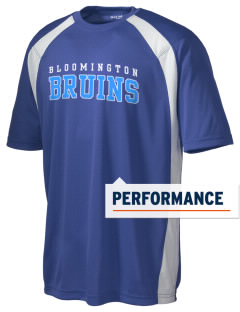 Bloomington High School Bruins Men's Dry Zone Colorblock T-Shirt