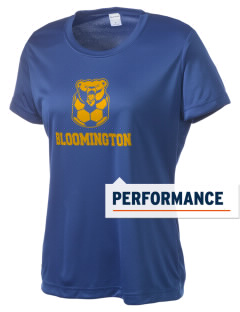 Bloomington High School Bruins Women's Competitor Performance T-Shirt