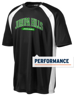 Jurupa Hills Middle School Jaguars Men's Dry Zone Colorblock T-Shirt