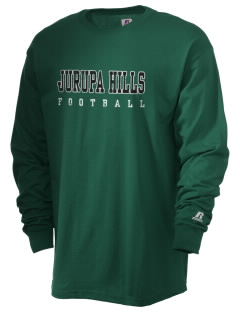 Jurupa Hills Middle School Jaguars  Russell Men's Long Sleeve T-Shirt