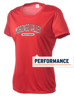 Morongo Valley Elementary School Mustangs Women's Competitor Performance T-Shirt