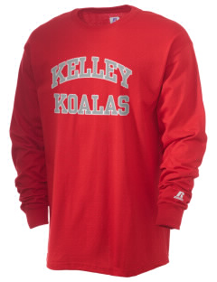 Kelley Elementary School Koalas  Russell Men's Long Sleeve T-Shirt
