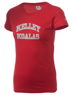 Kelley Elementary School Koalas  Russell Women's Campus T-Shirt