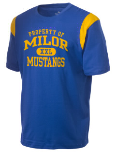 Milor Continuation Senior High School Mustangs Holloway Men's Rush T-Shirt