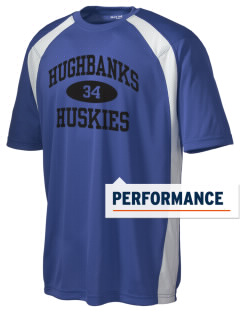 Hughbanks Elementary School Huskies Men's Dry Zone Colorblock T-Shirt