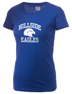 Hillside High School Eagles  Russell Women's Campus T-Shirt