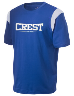 Crest Elementary School Coyotes Holloway Men's Rush T-Shirt
