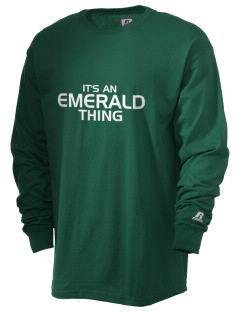 Emerald Middle School Knights  Russell Men's Long Sleeve T-Shirt