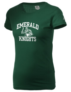 Emerald Middle School Knights  Russell Women's Campus T-Shirt