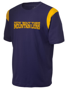 Potrero Elementary School Mountain Lions Holloway Men's Rush T-Shirt