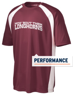 Rancho Buena Vista High School Longhorns Men's Dry Zone Colorblock T-Shirt