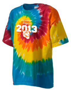 Aptos Middle School Tigers Kid's Tie-Dye T-Shirt