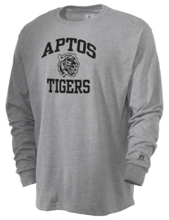 Aptos Middle School Tigers  Russell Men's Long Sleeve T-Shirt
