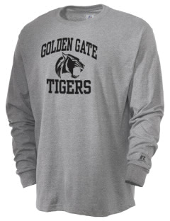 Golden Gate Elementary School Tigers  Russell Men's Long Sleeve T-Shirt