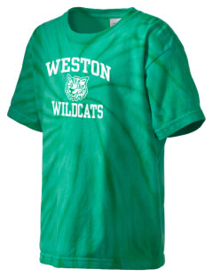 Weston Elementary School Wildcats Kid's Tie-Dye T-Shirt