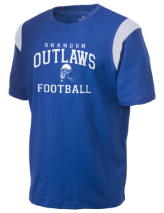 Shandon Senior High School Outlaws Holloway Men's Rush T-Shirt