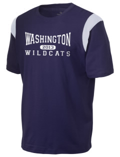Washington Elementary School Wildcats Holloway Men's Rush T-Shirt