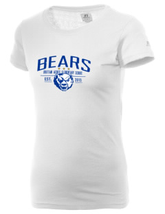 Brittan Acres Elementary School Bears  Russell Women's Campus T-Shirt