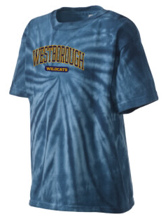 Westborough Middle School Wildcats Kid's Tie-Dye T-Shirt