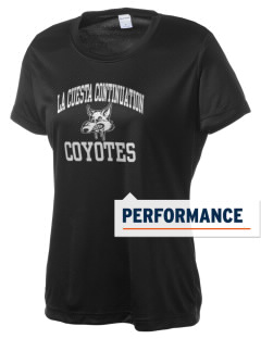 La Cuesta Continuation High School Coyotes Women's Competitor Performance T-Shirt