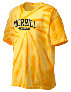 Morrill Middle School Tigers Kid's Tie-Dye T-Shirt