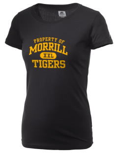 Morrill Middle School Tigers  Russell Women's Campus T-Shirt