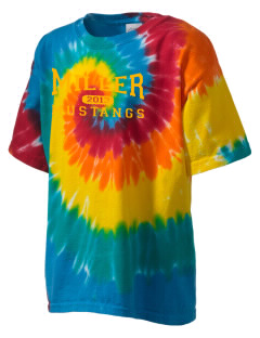Miller Junior High School Mustangs Kid's Tie-Dye T-Shirt