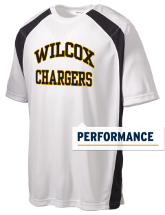 Wilcox High School Chargers Men's Dry Zone Colorblock T-Shirt