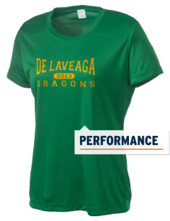 De Laveaga Elementary School Dragons Women's Competitor Performance T-Shirt