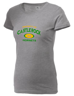 Castle Rock Elementary School Hornets  Russell Women's Campus T-Shirt