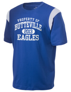 Butteville Union Elementary School Eagles Holloway Men's Rush T-Shirt