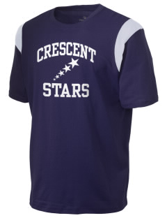 Crescent Elementary School Stars Holloway Men's Rush T-Shirt