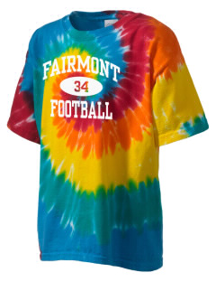 Fairmont Elementary School Falcons Kid's Tie-Dye T-Shirt