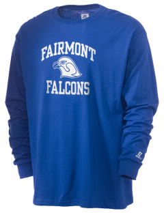 Fairmont Elementary School Falcons  Russell Men's Long Sleeve T-Shirt