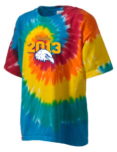 Cloverdale High School Eagles Kid's Tie-Dye T-Shirt