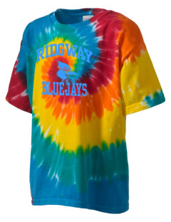 Ridgway School Bluejays Kid's Tie-Dye T-Shirt