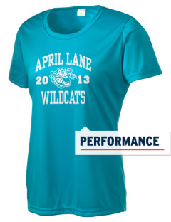 April Lane Elementary School Wildcats Women's Competitor Performance T-Shirt