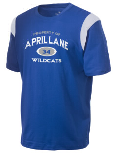 April Lane Elementary School Wildcats Holloway Men's Rush T-Shirt