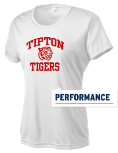 Tipton Elementary School Tigers Women's Competitor Performance T-Shirt
