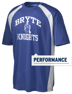 Bryte School Knights Men's Dry Zone Colorblock T-Shirt