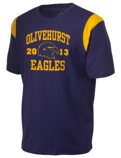 Olivehurst Elementary School Eagles Holloway Men's Rush T-Shirt