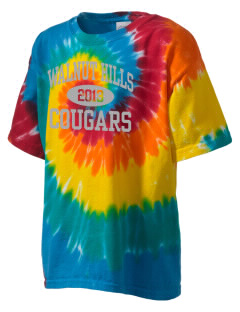 Walnut Hills Community Elementary School Cougars Kid's Tie-Dye T-Shirt
