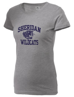 Sheridan Middle School Wildcats  Russell Women's Campus T-Shirt