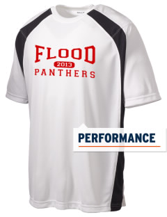 Flood Middle School Panthers Men's Dry Zone Colorblock T-Shirt