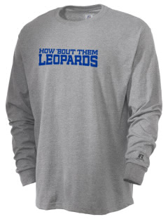Lincoln Orchard Mesa Elementary School Leopards  Russell Men's Long Sleeve T-Shirt