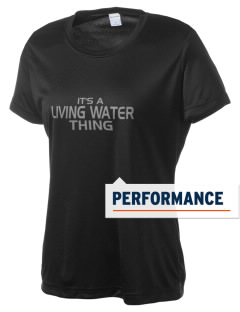 Living Water Christian School Warriors Women's Competitor Performance T-Shirt
