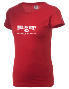 William Seely Elementary School Dragons  Russell Women's Campus T-Shirt