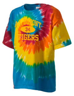 Alexis I. duPont High School Tigers Kid's Tie-Dye T-Shirt